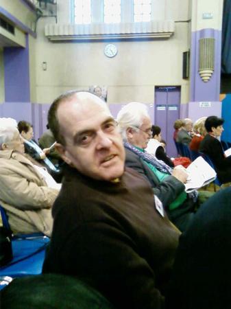 Patrick Ayache en réunion militante